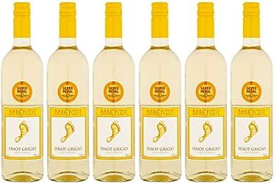 Barefoot Pinot Grigio White Wine 75cl (Case of 6)