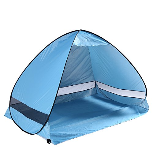 Silvercell Outdoors Quick Cabana Ultraviolet-proof Beach Tent (Blue)