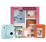 In Gift Box - Instax Mini 9 Camera + Instax Mini Film Pack 10x1 + Instax Photo Bunting + Instax Photo Album + Batteries + Camera Strap + Warranty Card + Instruction Manual Selfie mirror - you can check your framing with the mirror next to the lens Hi...