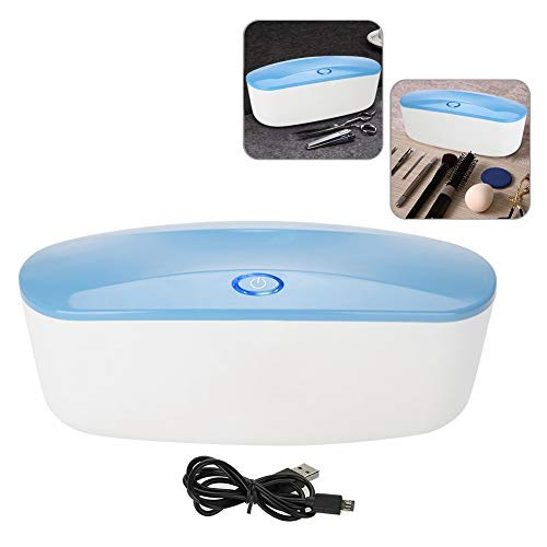 Caja de Esterilizador UVC, Estuche de Esterilización Ultravioleta, Dispositivo Desinfectante, para Accesorios de Manicura y Herramientas de Peluquería