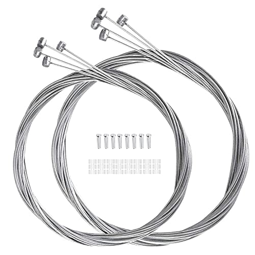 12 Piezas de Cables de Freno de Bicicleta, Cable de Biciclet