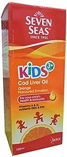 Seven Seas Kids Cod Liver Oil Emulsion with DHA Orange Flavour (100ml)