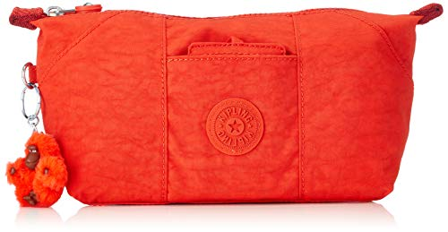 Kipling ART POUCH Portamonete, 28 cm, 1.5 liters, Rosso (Active Red)