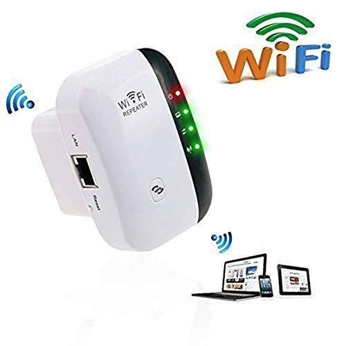 【úLtimo 2019】 Conjunto De Dos Piezas: Repetidor WiFi, Extensor De Alcance WiFi, Amplificador De SeñAl WiFi 2.4g-5g Red, Mini Amplificador De SeñAl InaláMbrico PortáTil De 300mbps con FuncióN WPS