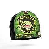 Pattex Crocodile Power Cinta, cinta americana fuerte de doble grosor, cinta adhesiva con fuerte poder de pegado, cinta aislante para múltiples materiales, negro, 1x30m