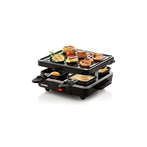 Domo DO9147G Raclette Grill, 600 W, Black