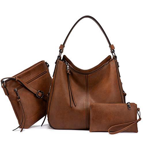 3 Piece Women Large Shoulder Bag Set Now $31.99 **Lightning Deal**