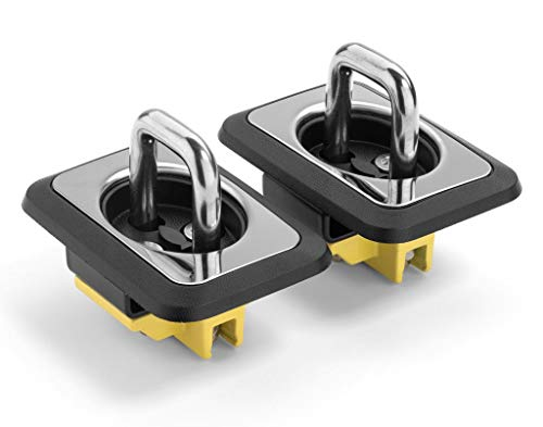 Bull Ring 4003 SS Universal Retractable Truck Tie Downs Direct From Factory 1-Pair