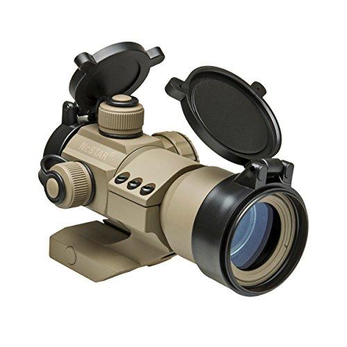 NC Star DRGB135T Tactical Dot Sight, 1x 35mm, Red/Green/Blue