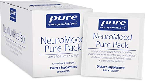 Pure Encapsulations - NeuroMood Pure Pack - Comprehensive Dietary Supplement for Positive Mood and Emotional Wellness - 30 Packets