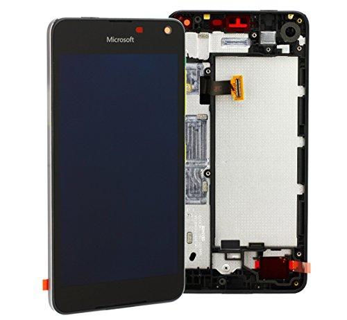Microsoft / Nokia Lumia 650 Display LCD touch screen completo + cornice nera PN: 00814H5