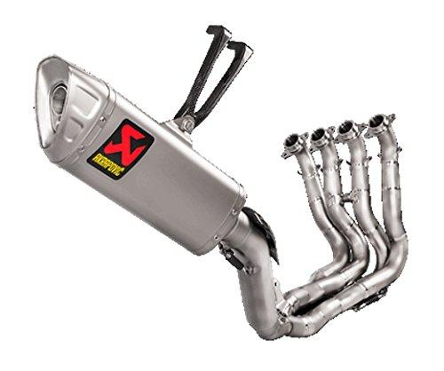 Akrapovic Evolution Titanium Full System Exhaust (Titanium) for 17-18 Honda CBR1000RR