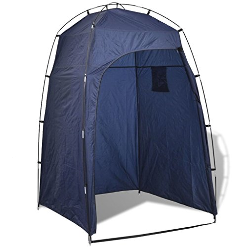 vidaXL Duschzelt Toilettenzelt Umkleidezelt Zelt Beistellzelt Lagerzelt Camping