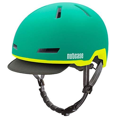 Nutcase NC031.AUG.L Helm, grün, X-Large
