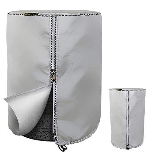 Mr.You Borse portapneumatici,Copri Gomme 4 PZ Portatile Antipolvere Impermeabile Borsa per Pneumatici Diametro della Sacca di stoccaggio dei Pneumatic