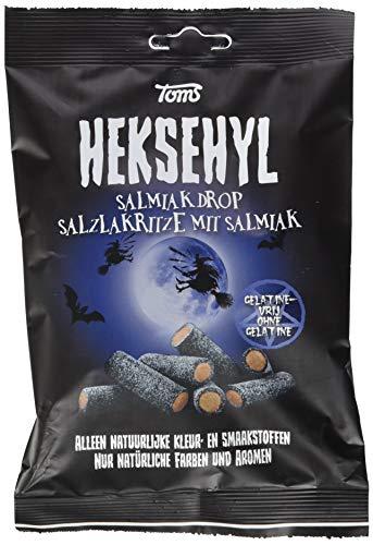 Toms Heksehyl Salzlakritze mit Salmiak, 150 g