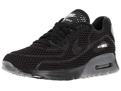 Nike Womens air max 90 Ultra BR Running Trainers 725061 Sneakers Shoes (US 7, Black Black White 002)