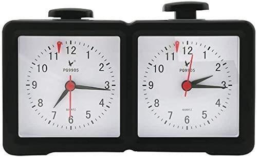 Feeyond Reloj De Ajedrez Analógico Reloj De Ajedrez Mecánico Reloj De Ajedrez Garde Simulación De Juego De Cuenta Regresiva