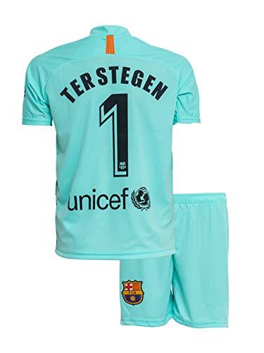ATB Barcelona #1 TER Stegen 2018/19 Heim Kinder Trikot und Hose (164)