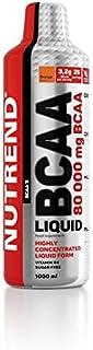 Nutrend BCAA LIQUID 40 000 500ml Naranja ácidos Flavor aminoácidos L-leucina. L-isoleucina y L-valina (BCAA) en una forma 3200 mg BCAA líquido por porción. la vitamina B6. sin azúcar