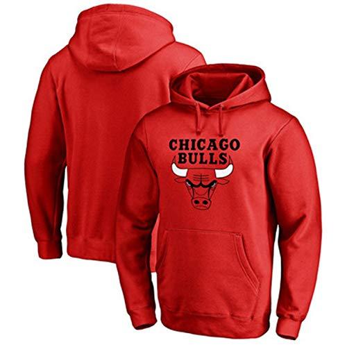 DFGTR Rojo - Michael Baloncesto Jordan Sudaderas Chicago #23 Sudadera Toros Juego De Baloncesto Sudadera Casual Camisetas Para Hombres