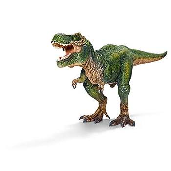 Schleich Dinosaurs Dinosaur Toy Dinosaur Toys for Boys and Girls 4-12 years old Tyrannosaurus Rex Green