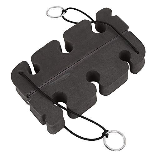 Demeras Portacanne Magnetico Portasapone Portatile in Schiuma ad Alta densità per Canna da Pesca 2 Pezzi in Auto