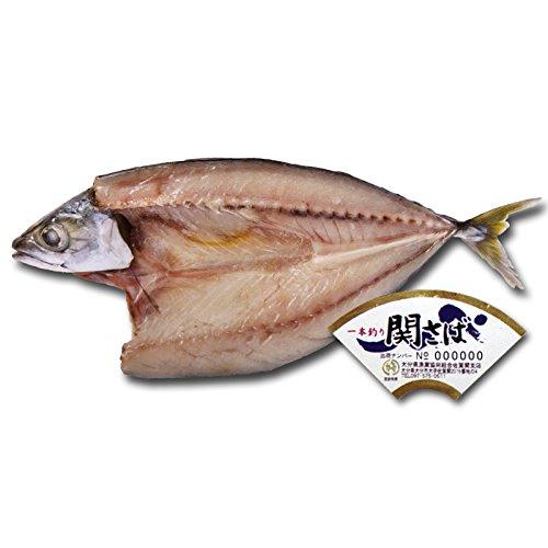 関サバ一夜干し 2Lサイズ(250〜300g) 1枚 大分県佐賀関漁業協同組合 ブランド魚 関さば 鯖 干物