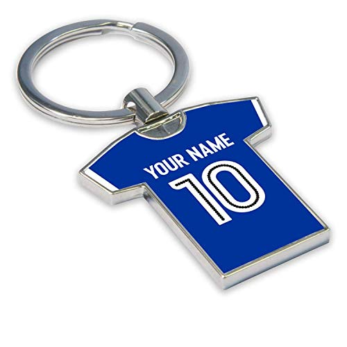 Personalised Ipswich Town Football Soccer T-Shirt Key Ring