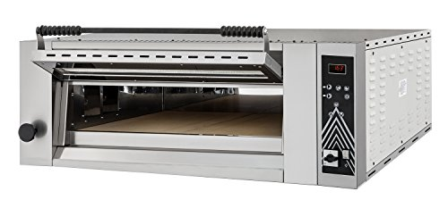Horno para pizza UP & DOWN 4 Digital Top – Cámara de horno de arcilla completa –...