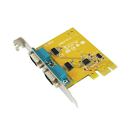 Tarjeta Sunix SER6437A PCI Express, 2 puertos seriales RS-232