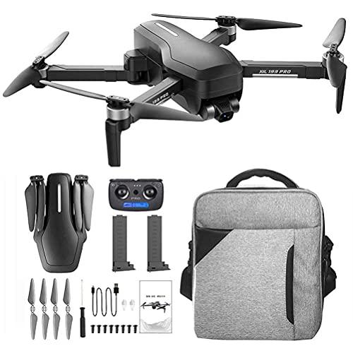 WECDS Drone 5G WiFi FPV, droni con videocamera HD 4K, 0-110 Gradi;Fotocamera ESC, droni GPS per Adulti, Gimbal Anti-Vibrazione a 3 Assi, Motore brushless, Occhiali VR compatibili, 2 batterie