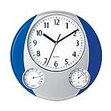 Makito Reloj Prego (Azul) I Reloj Analógico, de Pared I decoración Pared I Re...