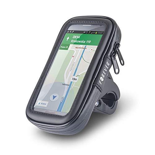 Forever vattentät cykel mobilhållare mobilhållare styrväska ramväska hållare utomhus cykelhållare motorcykel bike styre för iPhone, Samsung Galaxy, Note & alla telefoner (5,7 tum)