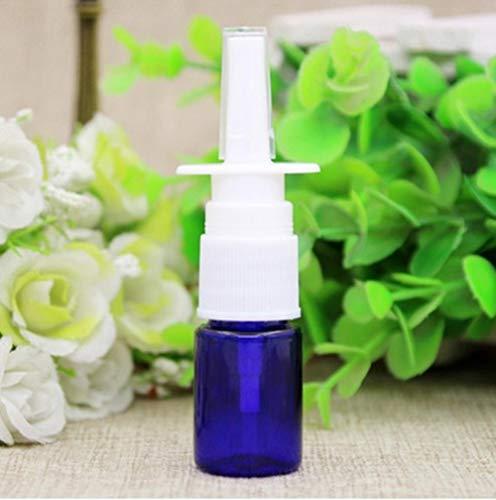QPM 20 Stks/partij 10 ml lege plastic neusspray flessen pompverstuiver Mist Spray huisdier navulbare flessen