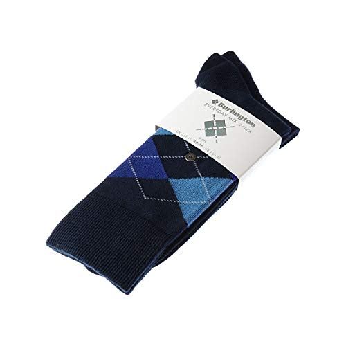 Burlington Everyday Mix 2-Pack Herren Socken marine (6121) 40-46 One size fits all (Gr. 40-46)