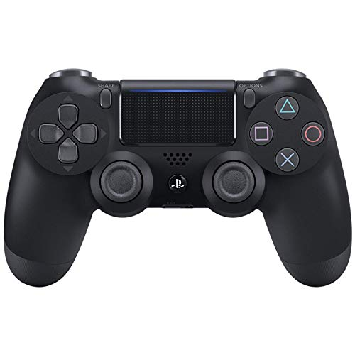 Sony PS4 Dualshock 4 Wireless Controller -- Jet Black (World Edition, Model# CUH-ZCT2E)