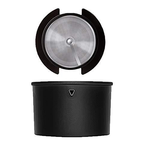 SXYB Handspülen-Kaffee-Topffilter, einfach zu transportierende Kaffee-Topfgerät, Handbünd- und Filterintegration, 304 Edelstahlfilter, geruchlos, für eine Vielzahl von Tassen geeignet