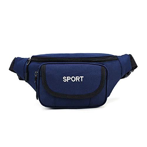 Poche De Taille Multi-Fonctionnelle pour Sports De Plein Air Sac pour Hommes Imperméable en Nylon Haute Capacité