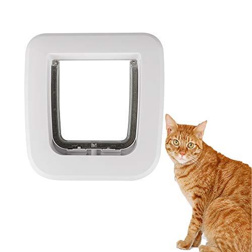 FXQIN Puerta abatible para Gatos