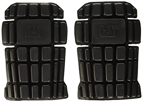 Caterpillar Knee Pads, Black, One Siz