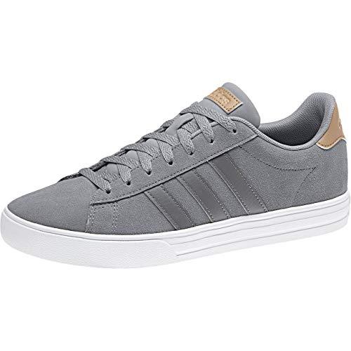 adidas Daily 2.0, Zapatos de Baloncesto Hombre, Gris (Grey/Grefou/Cardbo Grey/Grefou/Cardbo), 45 1/3 EU