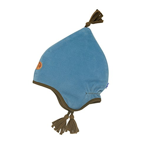 Finkid Pipo smoke blue capers Kinder Fleece Wintermütze