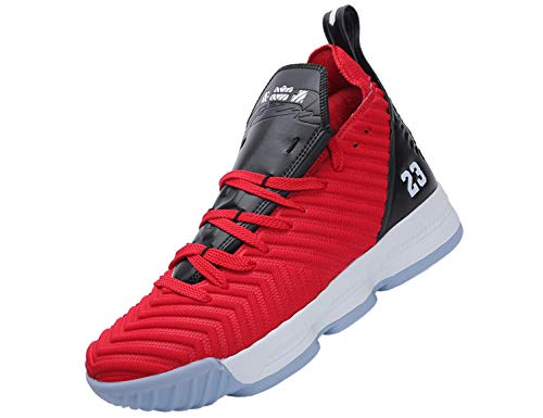 SINOES Basketball Schuhe High-Top-Dämpfung Licht Anti-Skid AtmungsAktive Outdoor-Sportschuhe Man Sneakers
