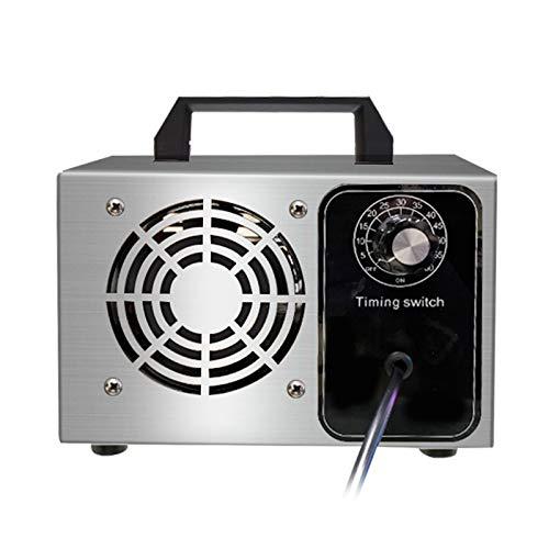 LYBC Profesionales Ionizadores Generador de ozono,con Temporizador y Caja de Acero Inoxidable,Desodorante y Esterilizador,5g/10g/15g ozonizador