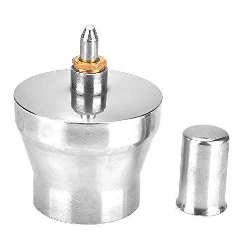 Quemador de alcohol, lámpara de alcohol de acero inoxidable de 450 ml Estufas de alcohol Quemador de alcohol espesado con tornillo y mecha Lámpara de laboratorio dental de química