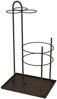 5CD1 Umbrella Stand Hanging Umbrella Rack Storage Home Hotel Lobby Commercial Umbrella Barrel Entrance Door Placement Tube (Color : Brown)