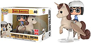 Funko Pop! Rides #40 Bob's Burgers Espresso Trip Tina & Unicorn (2018 Summer Convention Exclusive)