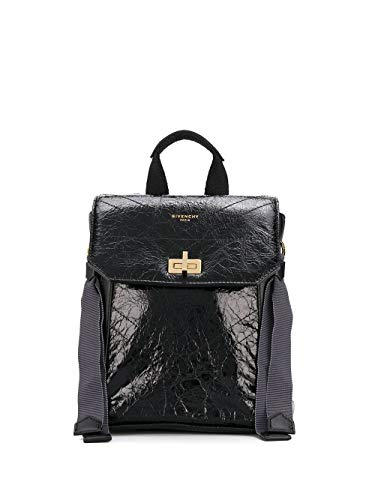 Luxury Fashion | Givenchy Woman BB50BRB0S5001 Black Leather Backpack | Spring Summer 20