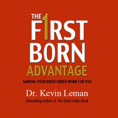 The First Born Advantage audiobook cover art